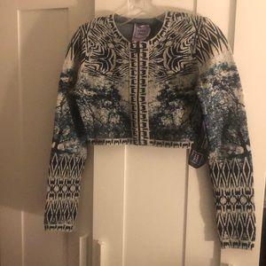 Herve Leger Crop Top/ jacket